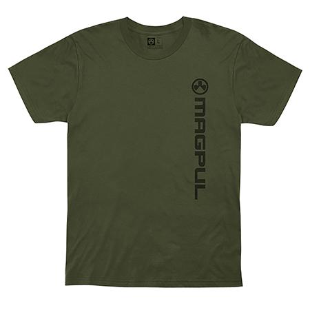 Magpul Vertical Logo T-Shirts Olive Drab Medium Sh