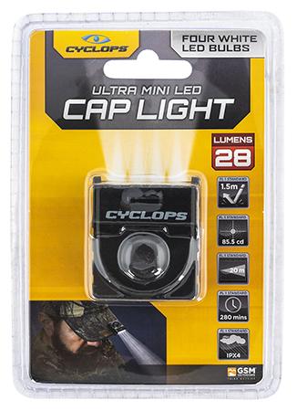 Cyclops CYC-HCBLK-W Hat Clip 4 LED White LED Bulb