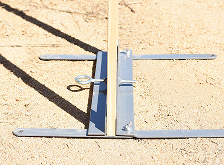 Birchwood Casey 2000MTS Metal Target Stand Gray St