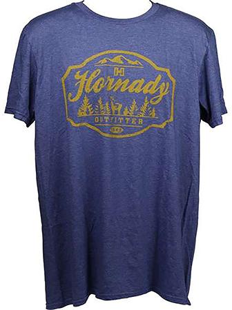 Hornady 99693M Outfitter T-Shirt Purple Medium Sho