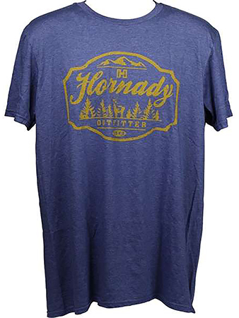 Hornady 99693L Outfitter T-Shirt Purple Large Shor