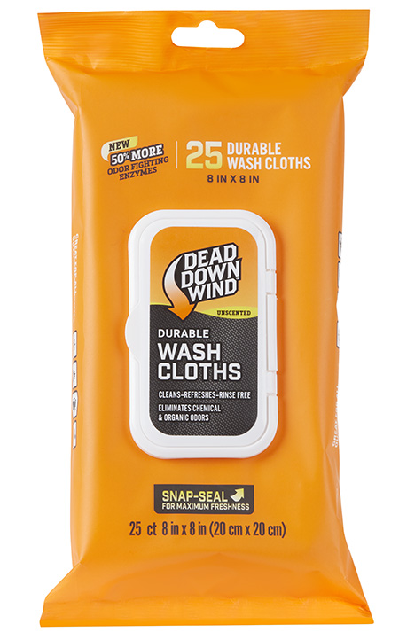 Dead Down Wind 1355 Wash Cloths Value Pack 8