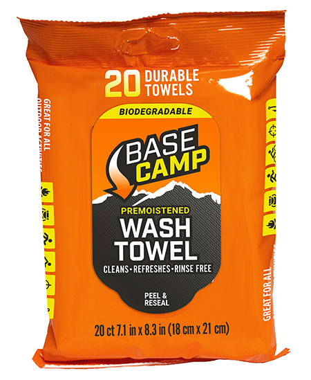 Dead Down Wind 1356 Base Camp Wash Towels Textured