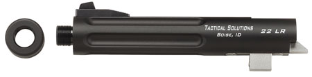 Tactical Solutions TL55TENF02 Trail-Lite 22 Long Rifle 5.5 Blk in.