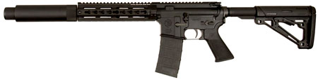 Tactical Solutions TSARC300K TSAR-300 Complete Semi-Automatic 300 AAC Blackout|Whisper (7.62x35mm) 16.1 10+1 Magpul MOE SL Black Stk Black in.