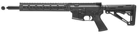 Tactical Solutions ARCLTK AR-LT Complete Semi-Automatic 22 Long Rifle 16.5 25+1 Collapsible Black Stk Black in.