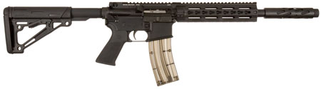 Tactical Solutions SBXK AR-22 SB-X Semi-Automatic 22 Long Rifle 16.6 25+1 Collapsible Black Stk Black in.