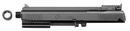 Tactical Solutions 2211TESSSTD 2211 Conversions with Standard Rail Threaded Barrel 4.8 Black Steel in.