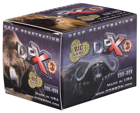 CorBon Deep Penetrating X Bullet, 45LC, +P, 225 Grain, Barnes X, 20 Round Box DPX45C225