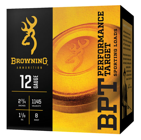 Browning Ammo B193611628 BPT 16 Gauge 2.75in. 1 oz 8 Shot 25 Bx/ 10 Cs