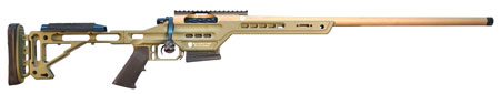 MasterPiece Arms 308BALITE Bolt Action Lite 308 Win|7.62 NATO 20 3+1 Adjustable Black Stk Brown Cerakote|Black Phosphate in.