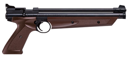 Crosman P1377BR American Classic Air Pistol Bolt .177 Brown|Black