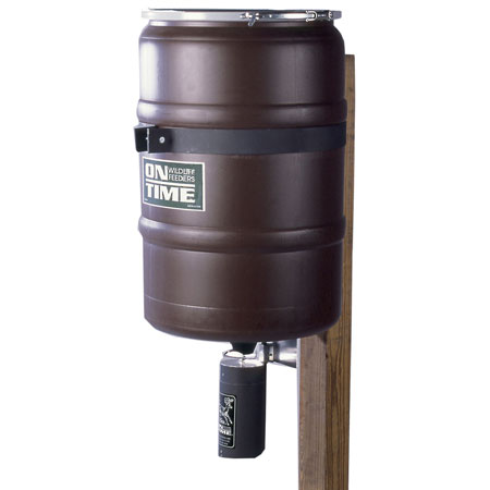 On Time 50003 Elite Fish Feeder 25 Gallons