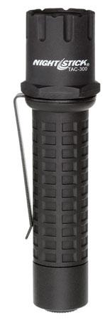 Nightstick TAC300B Nightstick Tactical Flashlight 180 Lumens CR123A Lithium (2) Black