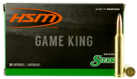 HSM 7MMMAG6N Game King 7mm Remington Magnum 160 GR Spitzer Boat Tail 20 Bx| 20 Cs