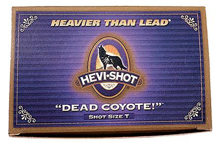 Hevishot 43030 Dead Coyote 12 ga 3 1-1|2oz T Shot 10Box|10Case in.