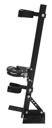 Great Day QD810LCR Quick Draw Vertical Locking Gun Rack Black Aluminum