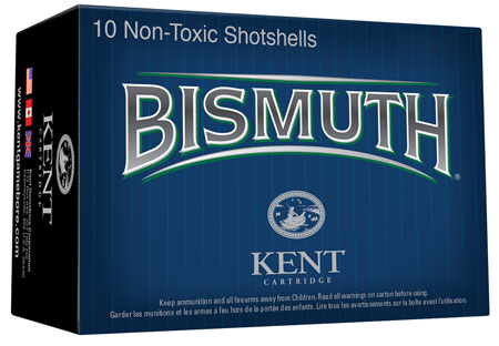 Kent Cartridge Bismuth Waterfowl 12 Ga 3 1-3/8 oz 4 Shot 10 Bx/ 10 in.