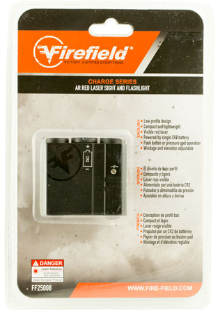 Firefield FF25008 AR-Laser Sight and Flashlight Red Laser AR15 Picatinny