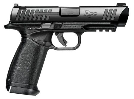 Remington Firearms 96256 RP9 9mm 9mm Luger Single|Double 4.5 18+1 NS Black Polymer Grip Black PVD Stainless Steel in.