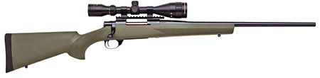 Howa HGT90228+ Hogue Targetmaster Scope Package Bolt 223 Remington 20 HB 5+1 Hogue Overmolded Green Stk Blued in.