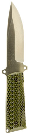 Magnum Research KNIFE1911 1911 Fixed 9 420 Stainless Clip Point G10 Grey|Green in.
