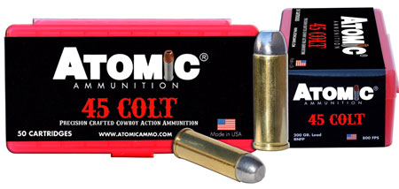 Atomic 00434 Cowboy Action 45 Colt (LC) 200 GR LRNFP 50 Bx| 10 Cs