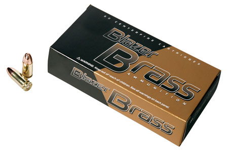 CCI 52107BB Blazer Brass 38 Special 125 GR Full Metal Jacket 200 Bx| 1 Cs