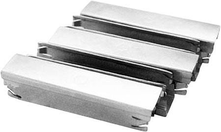 Aim Sports PJ003 Stripper Clip 7.62x54mm 5 rdMosin Nagant  All Rifles 5 Pack Zinc-Plated Steel Silver Finish