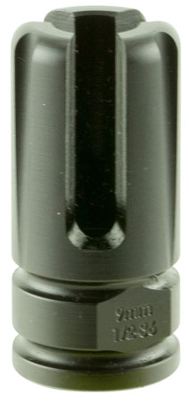 Advanced Armament 64741 Blackout Flash Hider Blackout 9mm Aerospace Alloy .75-1.375 in.  in.