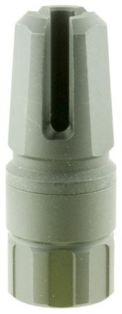 Advanced Armament 64743 Blackout Flash Hider 9mm 1.75- 2.375 in.  L Aerospace Alloy Black Nitride in.