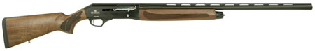 Dickinson 212W26 212 Semi-Automatic 12 Gauge 26 3 in.  Wood Stk Black in.