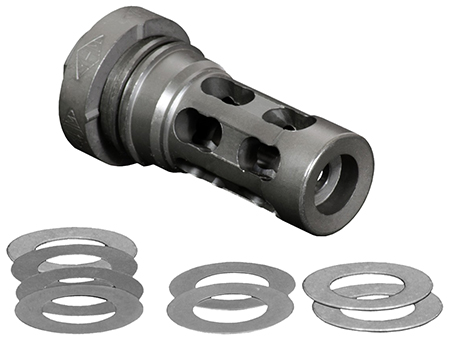 Yankee Hill 4302MB28A Muzzle Brake 30 Cal LTA 1|2-28 Metal in.