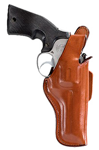 Bianchi 10301 Thumbsnap Belt Holster Charter Arms Undercover 2 Leather Tan  in