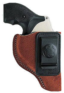 Bianchi 10382 6 Waistband Charter Arms; Colt; Ruger; S&W; Taurus Leather Tan