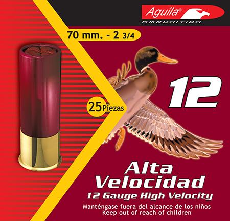 Aguila 1CHB1204 Field 12 Gauge 2.75in. 1 1/4 oz 4 Shot 25 Bx/ 10 Cs