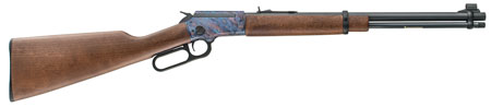 Chiappa Firearms 920383 LA322 Standard Takedown Lever 22 Long Rifle (LR) 18.5 15+1 English Wood Stk Blued in.