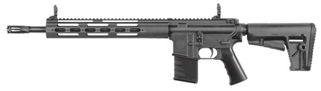 Kriss USA DMC22BL01 Defiance DMK22C Semi-Automatic 22 Long Rifle (LR) 16.5 10+1 6-Position Black Stk in.