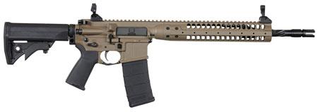 LWRC ICR5CK16SPRC Individual Carbine SPR *CA Compliant* Semi-Automatic 223 Remington|5.56 NATO 16.1 10+1 Adjustable Black Stk Flat Dark Earth Cerakote|Black in.