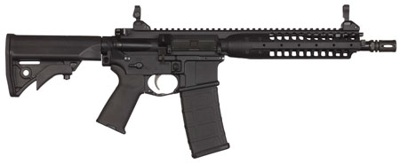LWRC ICA5R5B16CAC Individual Carbine A5 *CA Compliant* Semi-Automatic 223 Remington|5.56 NATO 16.1 10+1 Adjustable Black Stk Black Nitride in.