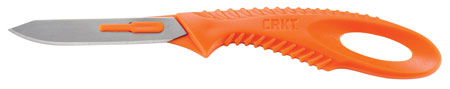 Columbia River 2393H P.D.K Fixed 2.6 420J2 Stainless Tanto Plastic Orange in.