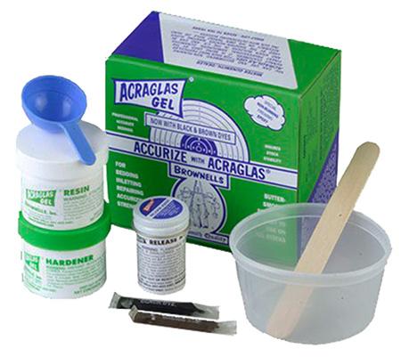 Brownells 20100 Acraglas Gel Kit 4 oz