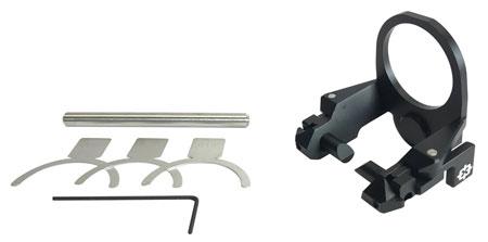 Cross Armory CRQP Quick Pins Takedown Pin AR15 Rear Pin Kit  Mil-Spec  7075 T6 Aluminum Black