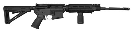 Civilian Force Arms 010117ME Xena-15 Gen2.1 Semi-Automatic 223 Remington|5.56 NATO 16 30+1 6-Position Black Stk Black Hard Coat Anodized in.