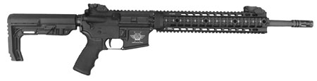 Civilian Force Arms 010117KR Katy-15 Rifle Semi-Automatic 223 Remington|5.56 NATO 16 30+1 6-Position Black Stk Black Hard Coat Anodized in.