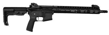 Civilian Force Arms 010117WR Worrior-15 Rifle Semi-Automatic 223 Remington|5.56 NATO 16 30+1 6-Position MFT BMS Minimalist Black Stk Black Hard Coat Anodized in.