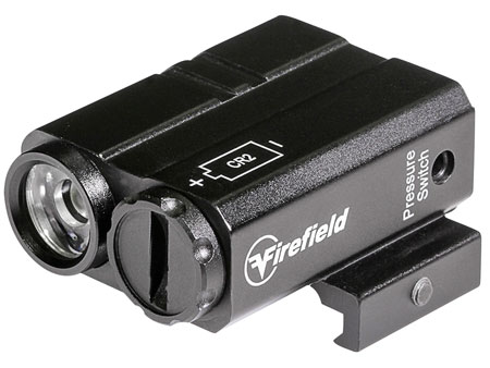 Firefield FF73012 Charge AR Flashlight 180 Lumens CR2 Lithium (1) Black