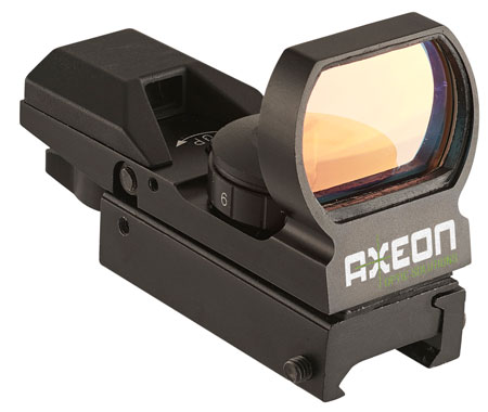 Axeon 2218637 Reticle Optics Reflex Sight 4 Options Black Red reticle