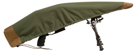 Sentry 19DC01MG Armadillo AR15 Rifle Cover Green|Tan 37L x 7.5 in.  H in.