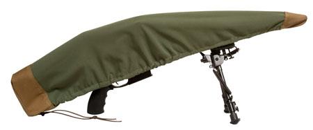 Sentry 19DC02MG Armadillo Shotgun Cover Green|Tan 50L x 7 in. H in.